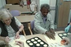 Baking jam tarts