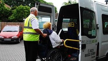 transport and community minibus hire Southampton
